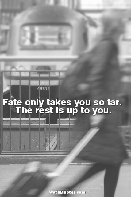 Quotes and Sayings About Fate