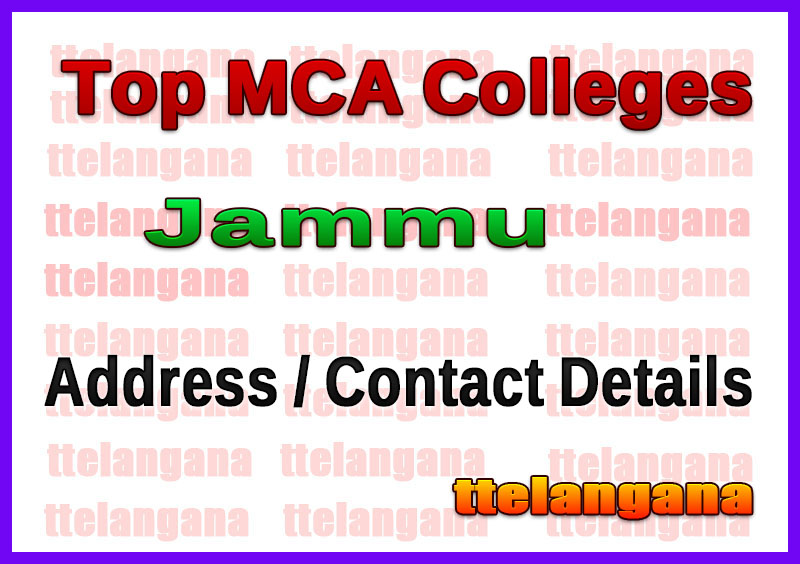 Top MCA Colleges in Jammu
