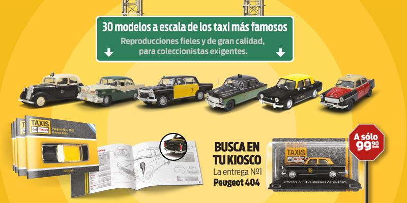 Taxis del mundo 1 43 pct en argentina colecciones ch veres for Coleccion cuchillos el mundo