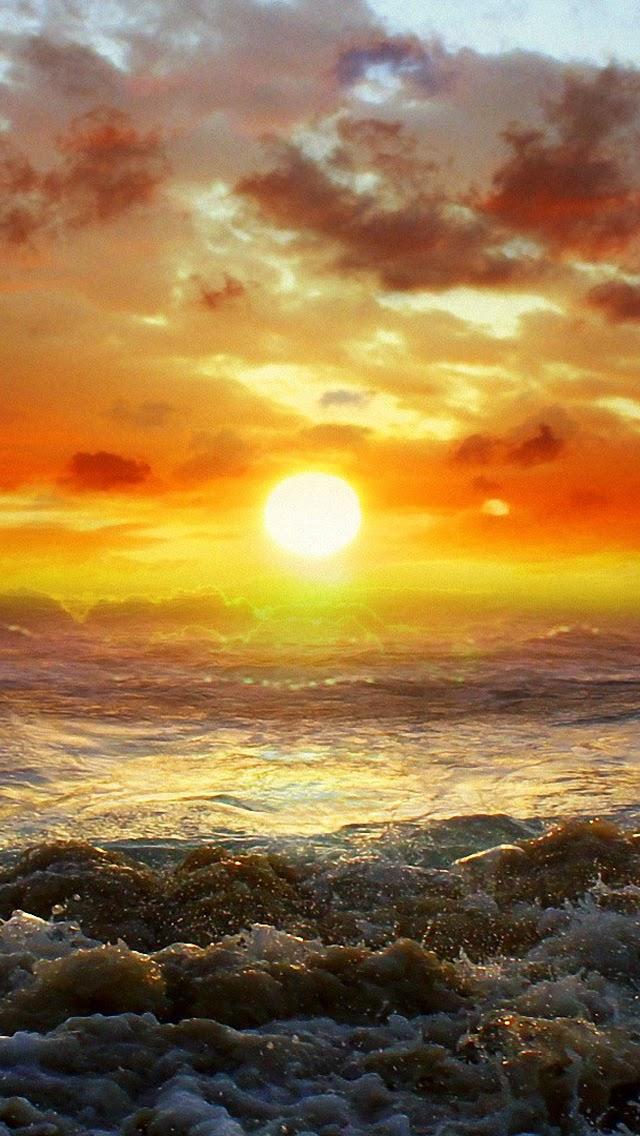 Sunset Wallpaper IPhoneWallpaper Design