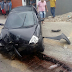 Motorista colidiu carro em poste na avenida Capitão -Mor - Gouveia x rua dos Caicós