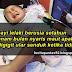 Jari Telunjuk Bayi Dalam Mulut Si Senduk Hitam,Nyaris Maut