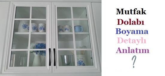 mutfak dolab%25C4%25B1 boyama Ev Dekorasyonu