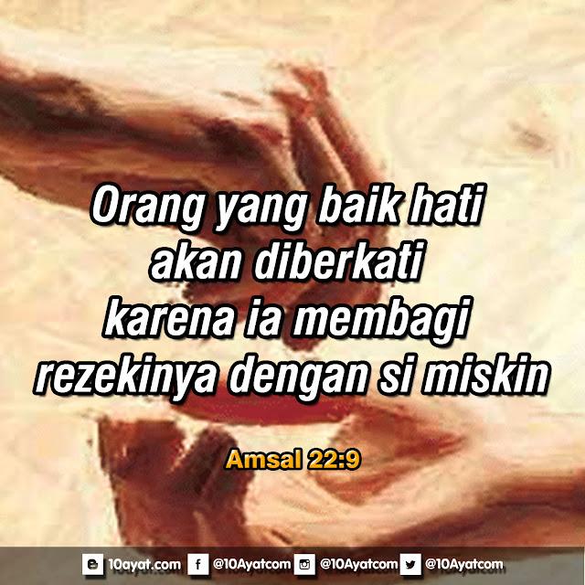 Amsal 22:9