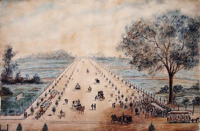 Avenida Paulista em São Paulo em 1891