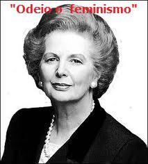 Porque é que as feministas odeiam a Margaret Thatcher?