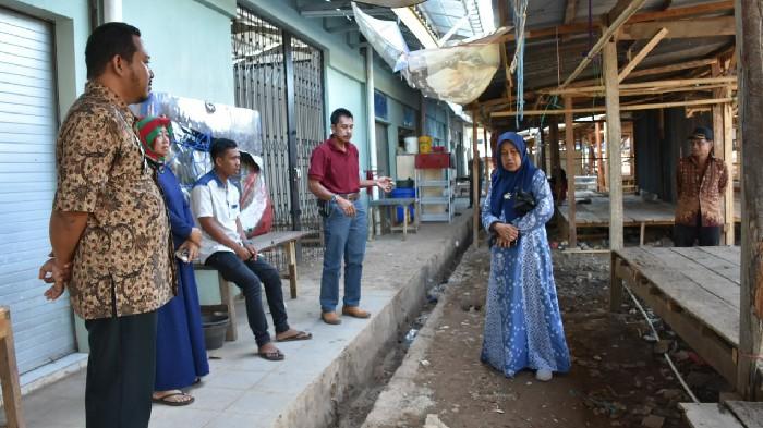 Komisi III DPRD Sinjai Tinjau Pasar Mannanti