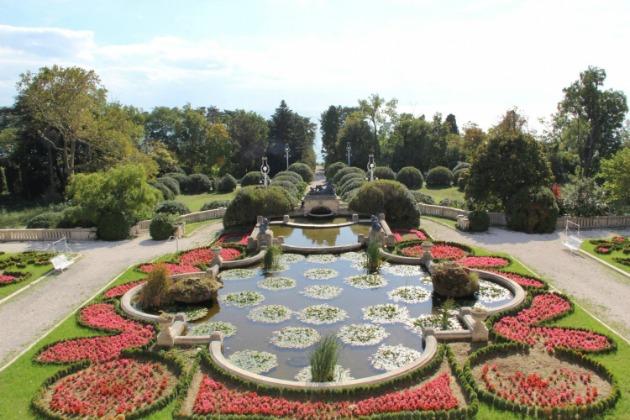 Jardines palacio de Euxinograd, Varna, Bulgaria