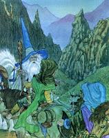 Llegada a Rivendel