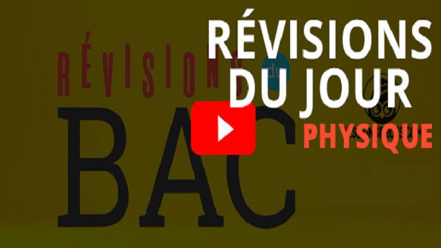 Révisions physique chimie 2 bac biof