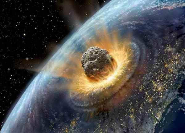 Падения астероида на землю видео фото 444-931