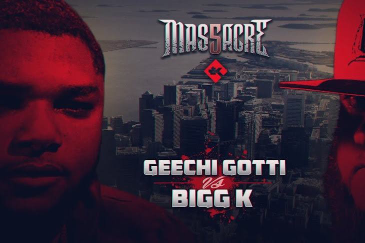 King Of The Dot Presents: Geechi Gotti vs Bigg K