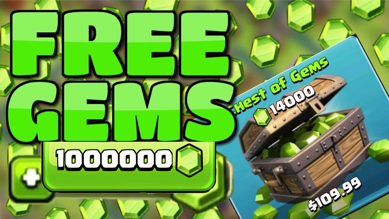 Claim Clash of Clans Unlimited Gems For Free! 100% Working [20 Oct 2020]