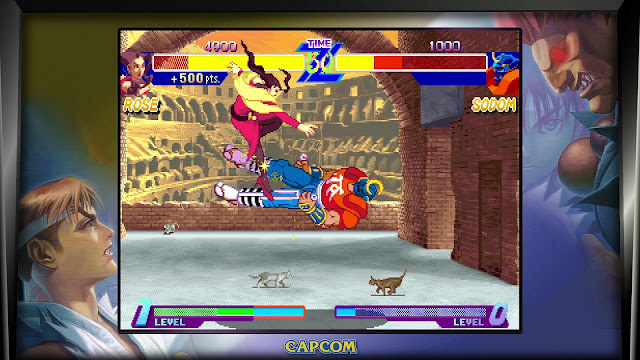 Street Fighter 30th Anniversary Collection - Street Fighter Alpha Warriors' Dreams - Rose VS Sodom
