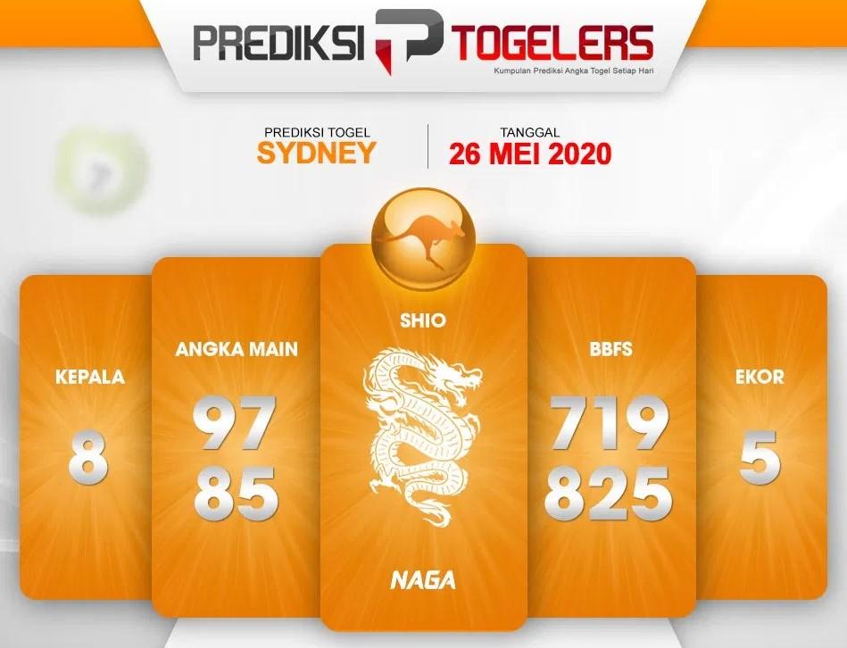 Prediksi Syair Sydney Selasa 26 Mei 2020 - Prediksi Togelers