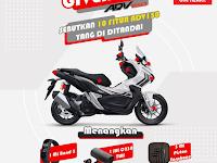 Honda Kalbar Mengadakan Giveaway Tentang Motor ADV150