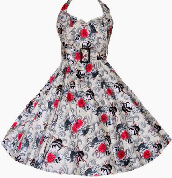 modelo vestido estilo vintage