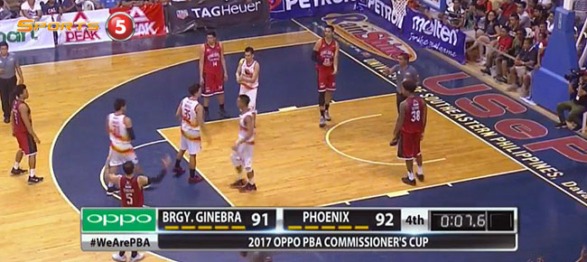 Phoenix def. Ginebra, 94-91 (REPLAY VIDEO) April 1