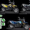 Warna Baru Kawasaki D Tracker 2019, Tersedia 5 Pilihan