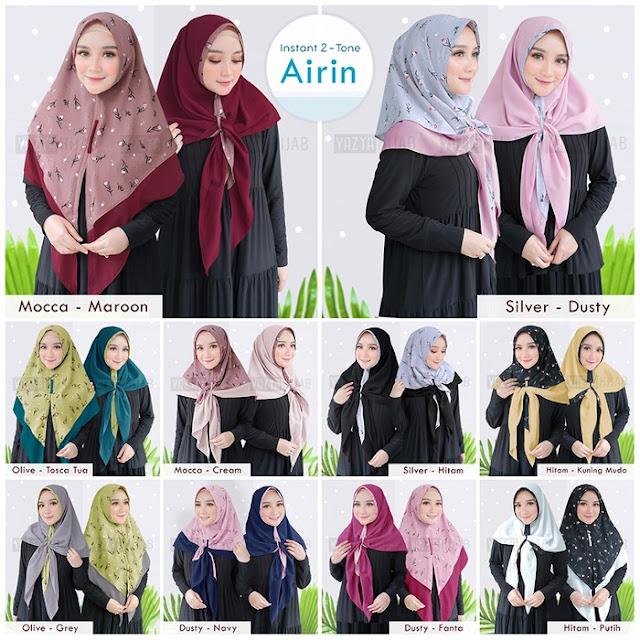 Jilbab Instan Airin