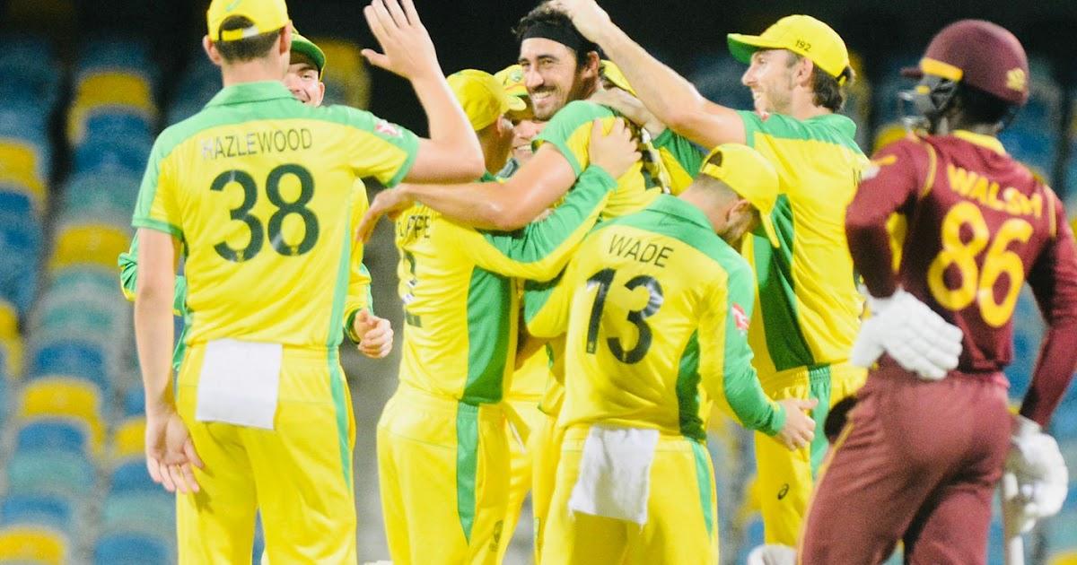 West Indies vs Australia 1st ODI 2021 Highlights