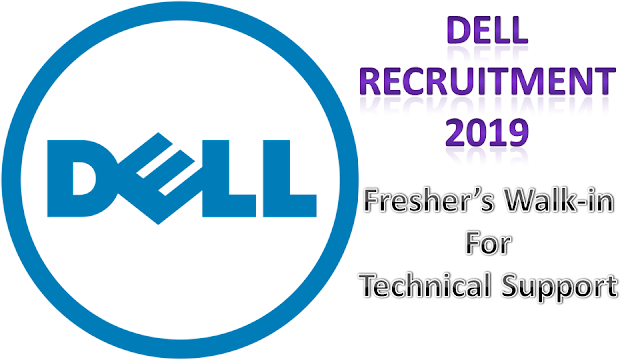 Dell Freshers Recruitment 2019