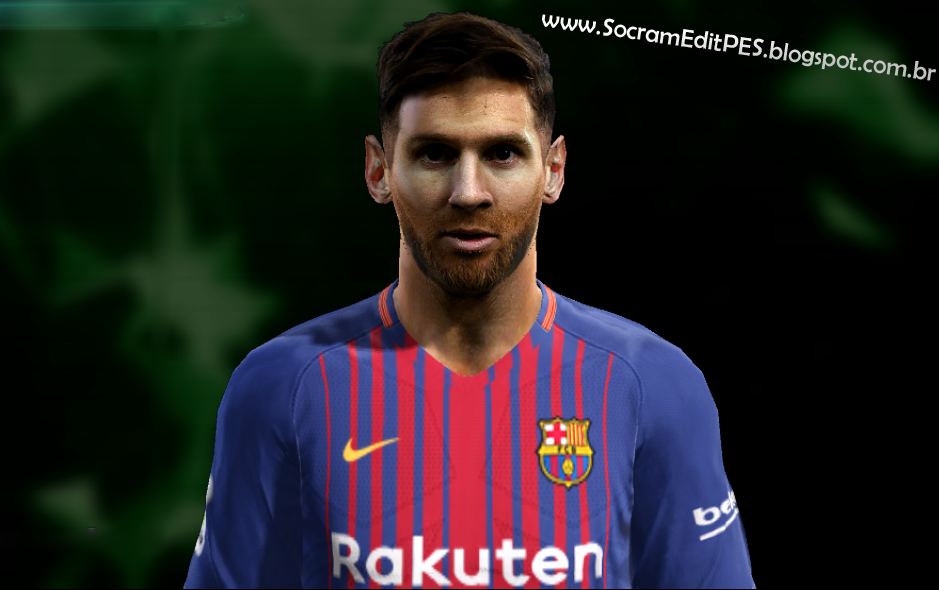 PES 2013 Face Lionel Messi [Update] by Socram