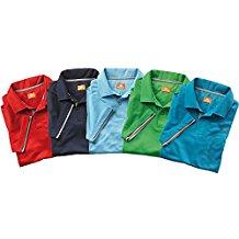 Nordcap Poloshirts / Funktionsshirts, 5er Pack hochwertige Herren Kurzarm-Polos (Größen: M - XXXL, Farben: Rot, Hellblau, Dunkelblau, Grün, Schwarz)