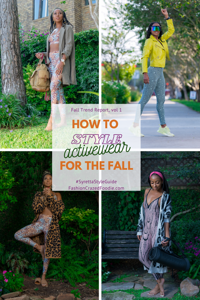 How to Style Activewear for the Fall
