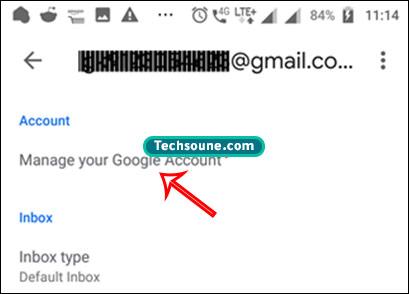 تغيير كلمة المرور Gmail 10