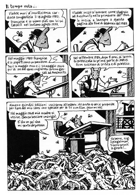 Art Spiegelman – Stare nella realtà con le nuvole.