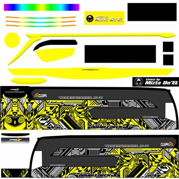 Livery JB3+ SDD MD Creation Electrical Yellow
