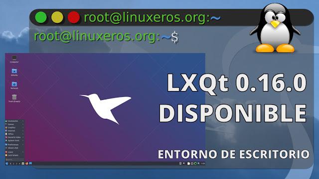 Disponible LXQt 0.16.0, con nuevos temas y múltiples mejoras