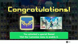 Congratulations! You unlocked a special theme!