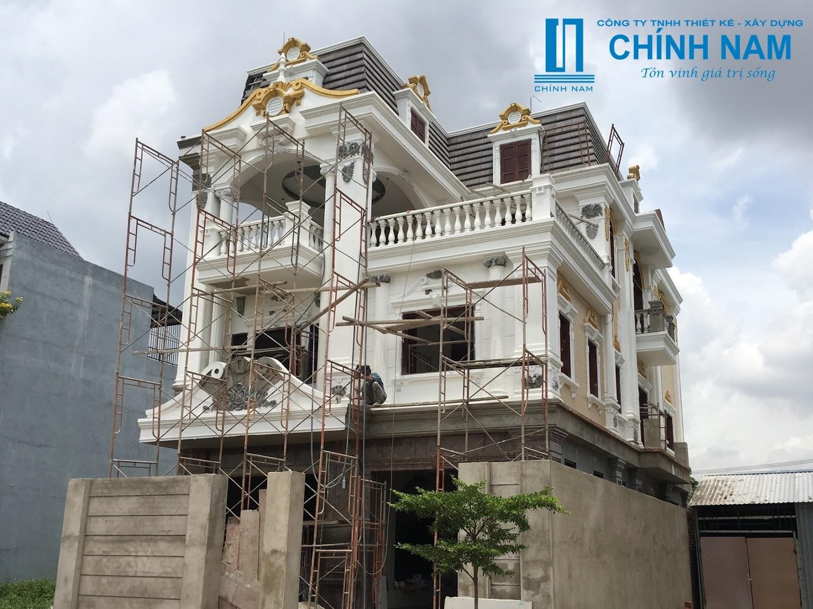 Thi công xây dựng nhà chú Thành ở Long Bình Tân - Biên Hoà - Đồng Nai