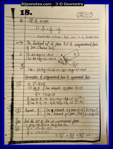 3d Geometry important questions8