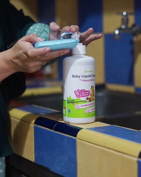 sabun cuci botol bayi, baby liquid cleanser mama's choice