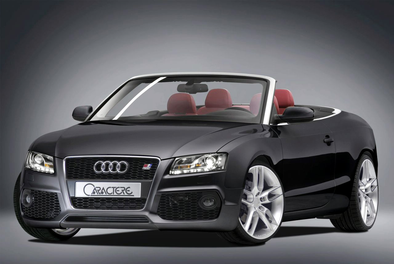 latest cars zone caractere styles the audi a5 cabrio. Black Bedroom Furniture Sets. Home Design Ideas
