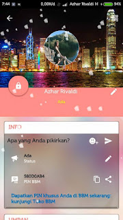 BBM Mod APK LOVE STORY 3.0.1.25