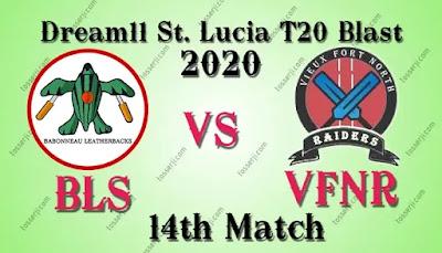 Who will win BLS vs VFNR 14th T10 Match