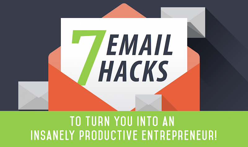 7 Email Hacks That'll Turn You Into an Insanely Productive Entrepreneur - infographic