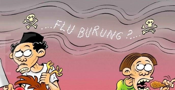 Waspada terhadap Bahaya Flu Burung   Artikelsiana - Artikelsiana