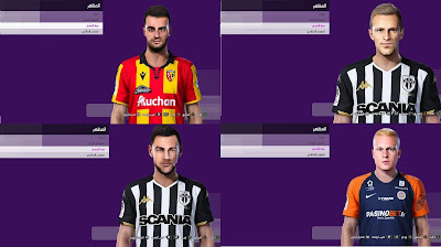 PES 2021 Facepack Ligue 1 by Hicho