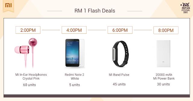 XiaoMi RM1 Flash Deals 6 April 2016
