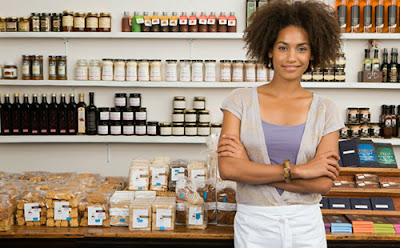 Black woman business owner