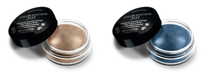 Bourjois: Color Edition 24h sombras en crema packaging