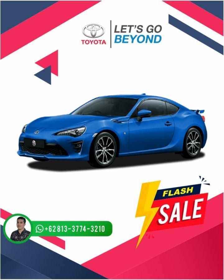 Harga Promo Toyota FT 86 Bali