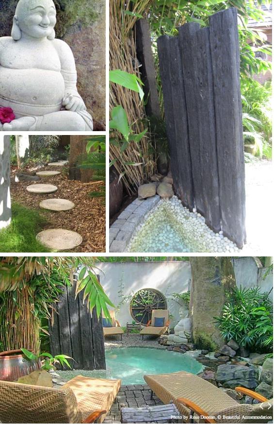 Natural Modern Interiors Buddha Gardens Day Spa Byron Bay Nsw