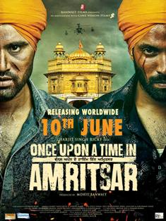 Gurjind Maan and Dilpreet Dhillon in Once Upon A Time in Amritsar
