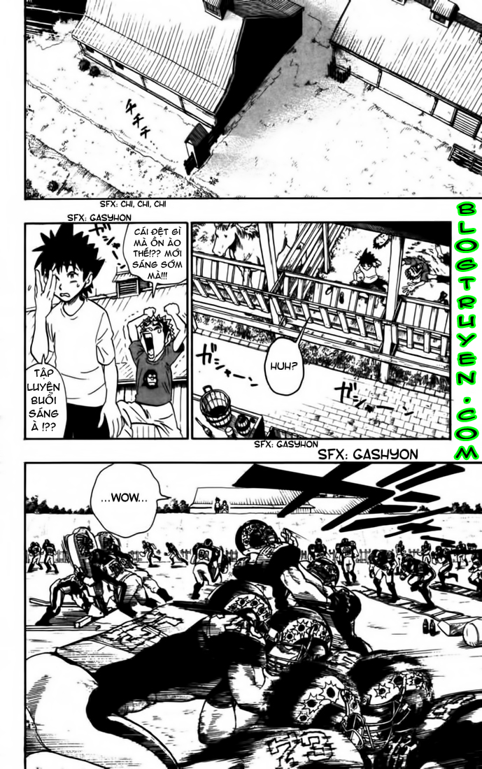 Eyeshield 21 chapter 75 trang 15